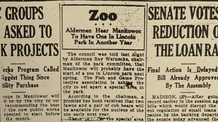 Zoo Nooz: History of the zoo