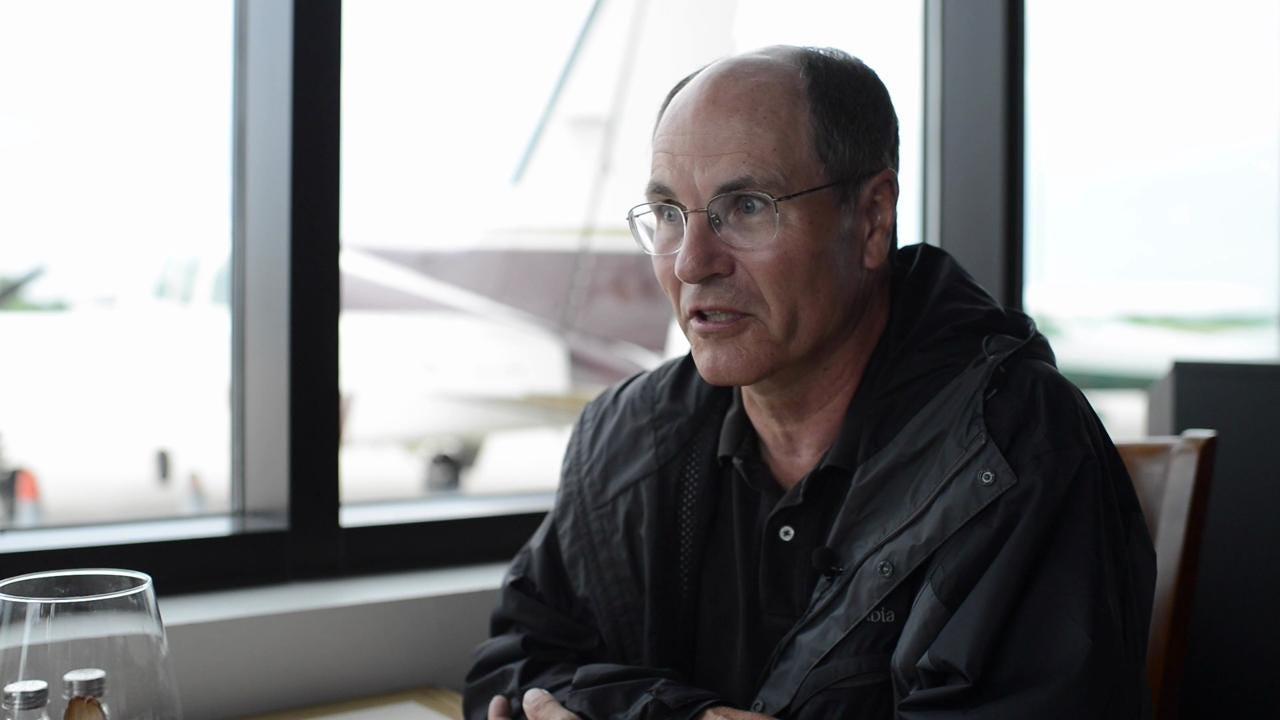 Aerial Blimp Videographer Explains his Piece of PGA Coverage