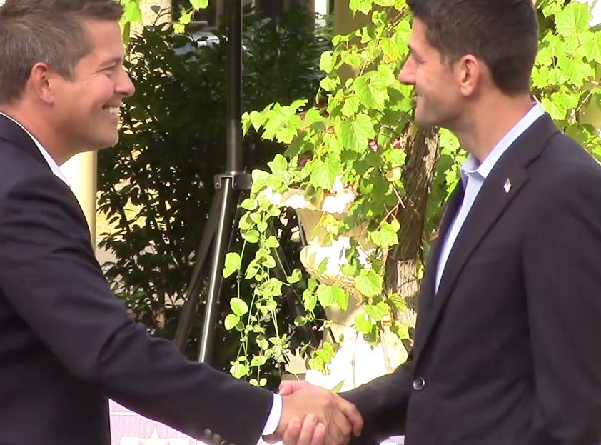 Paul Ryan and Sean Duffy: Rally in Wausau