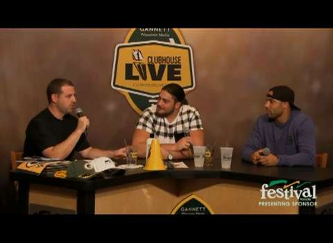 Green Bay Packers David Bakhtiari debut as the co-host of Clubhouse Live, Gannett Wisconsin Media's live weekly pro football show from The Clubhouse in downtown Appleton. Bakhtiari's guest was safety Micah Hyde. (Sept. 14, 2015)