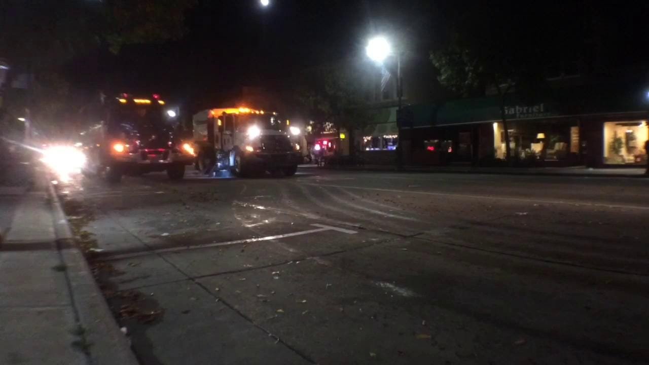 Watch a timelapse video from College Avenue as crews clean up following Octoberfest 2015. (Sept. 26, 2015)