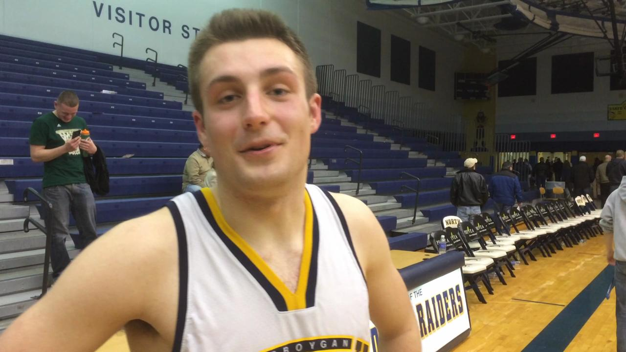 Davis Larson talks about Sheboygan North's win over De Pere, becoming FRCC champs