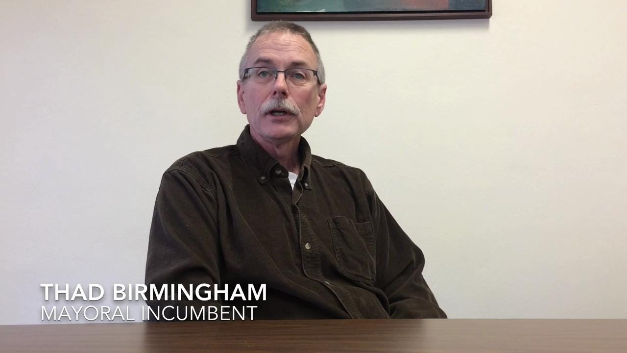 Sturgeon Bay mayor candidates talk about why people should vote for them.