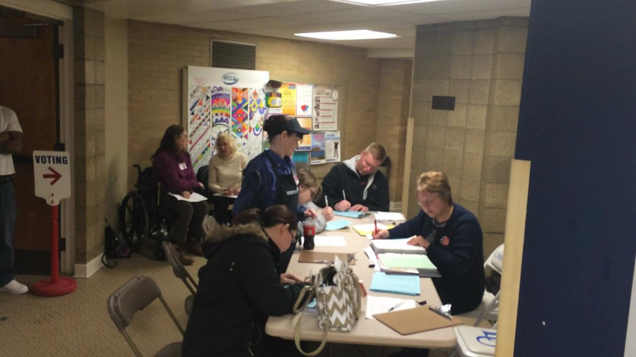 Fox Cities polls busy during spring election