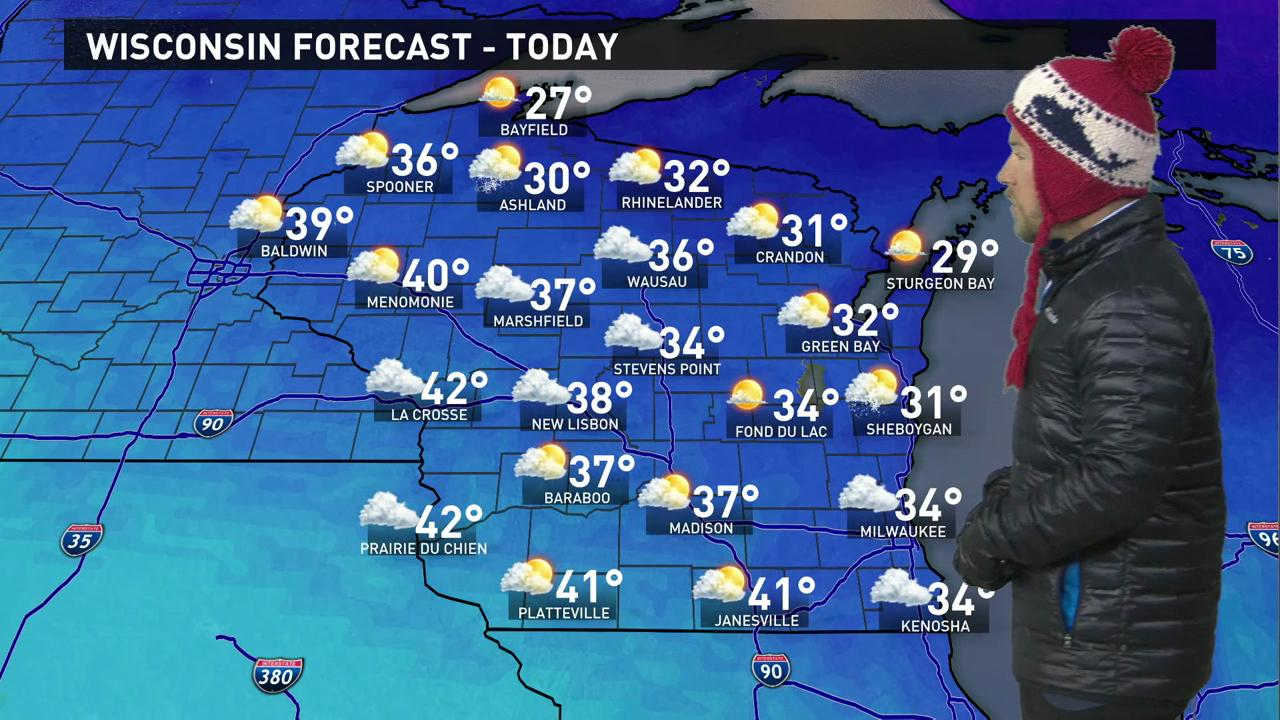 Wisconsin Weather Forecast For Monday April 4