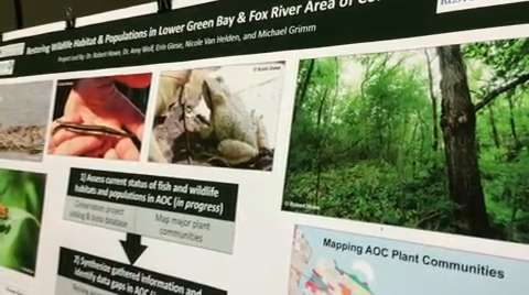 Environmentalists and conservationists converged on the Uniiversity of Wisconsin-Green Bay campus this week to swap information, share tips and plot strategies.