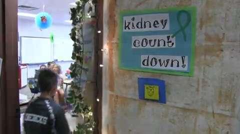Oakfield Elementary School On Kidney Day