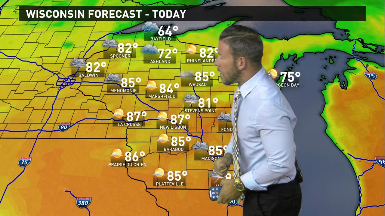 Wisconsin Weather Forecast For Thursday May 26