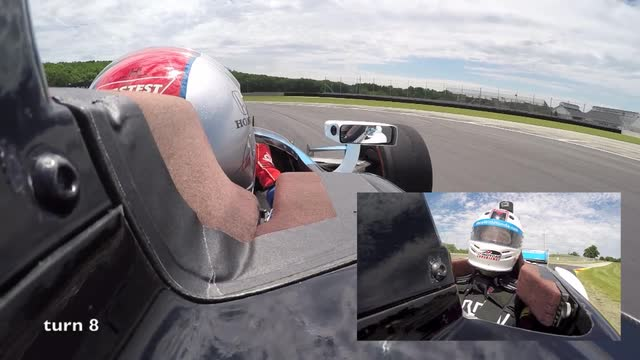 USA TODAY NETWORK - Wisconsin's Andy Hildebrand was strapped into a special two seat Indy car and was driven a lap around Elkhart Lake's Road America by the legendary Mario Andretti.