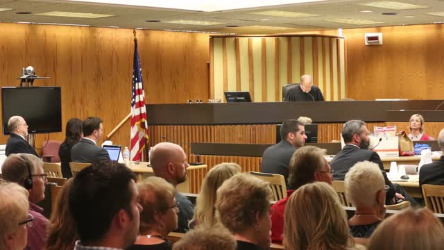 Judge Gary Sharpe asks the jury in the Dennis Brantner murder trial if they are able to agree on a verdict.