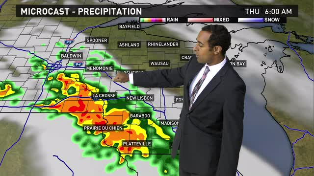 Wisconsin weather forecast for Wednesday, June 8