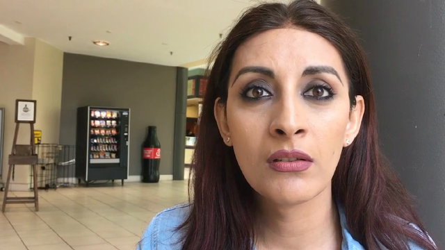 Noor Andrews is a transgender woman who says she should not be forced to used the men's bathroom. Video: James E. Causey