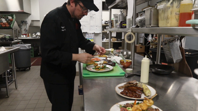 PJ's-SentryWorld's executive chef Roger Payne discusses why he wanted to work at PJ's-SentryWorld as well as the new menu.