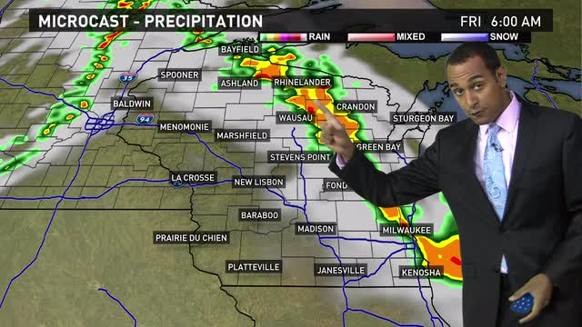 Wisconsin weather forecast for Thursday, June 9