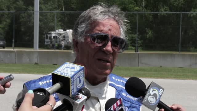 After driving people around Road America who signed up for the Indy Experience event at the track Wednesday, Andretti gave some comments about the program and the course.