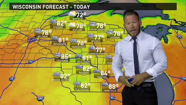 Wisconsin weather forecast for Thursday, July 7