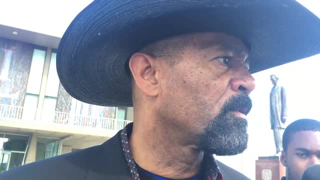 Sheriff Clarke on visit with Trump