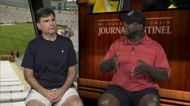 In their weekly 5 Questions series, Tom Silverstein and ex-Packer LeRoy Butler talk about the offense's miscommunication against the Jaguars, the importance of re-signing left tackle David Bakhtiari and the quarterback debate in Minnesota.