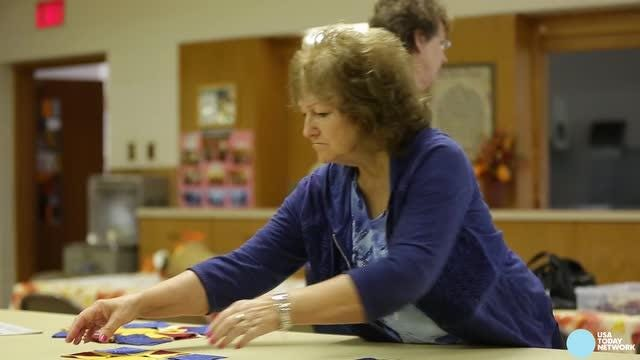 The Golden Needle Quilting group of Almond makes beautiful and intricate designs for nursing homes and many others, including now: veterans.