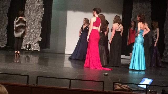 Thirteen girls have been working for eight weeks to prepare for the Miss Wisconsin Rapids Area Scholarship Pageant, Oct. 22 in Wisconsin Rapids.