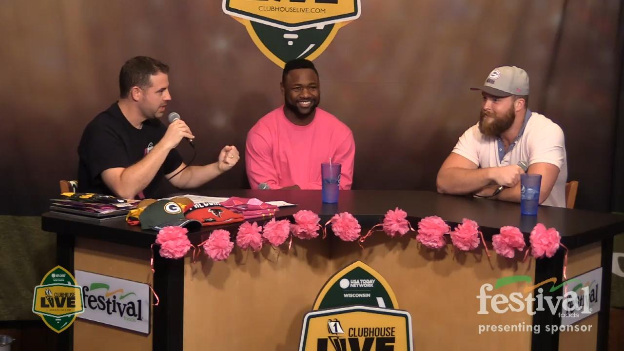 """Green Bay Packers fullback Aaron Ripkowski explains what goes on in """"The Pile"""" on Clubhouse Live."""