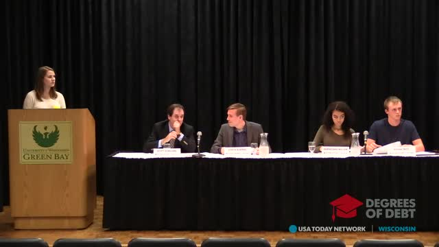 REPLAY: Degrees of Debt campus rally: Green Bay