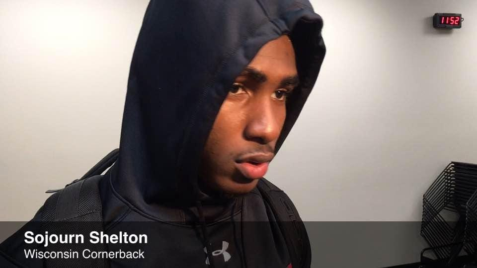 Sojourn Shelton after UW's loss to Ohio State