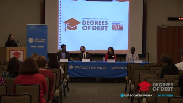 Degrees of Debt campus rally: Oshkosh