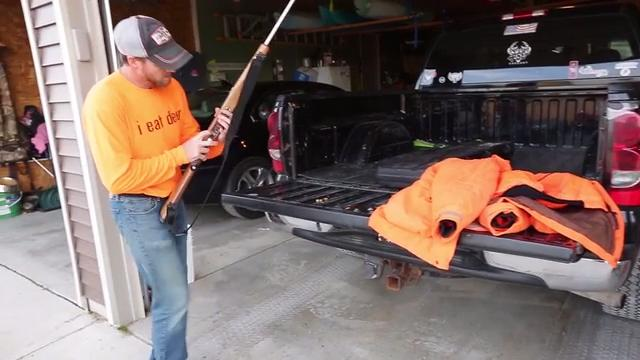 Hunter Rob Scholler goes over his preparations for hunting deer