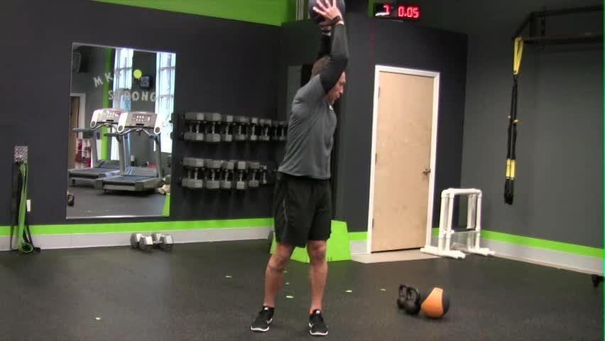 In Motion: Overhead Slams