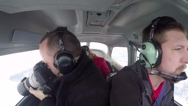USA TODAY NETWORK-Wisconsin photographer Doug Raflik took to the skies to photograph sturgeon spearing from above. This is a time lapse of his one hour flight compressed into two minutes.