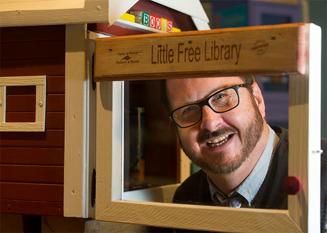 4318ce1e4e3 I Am An American  Wisconsin s Todd Bol started Little Free Library ...