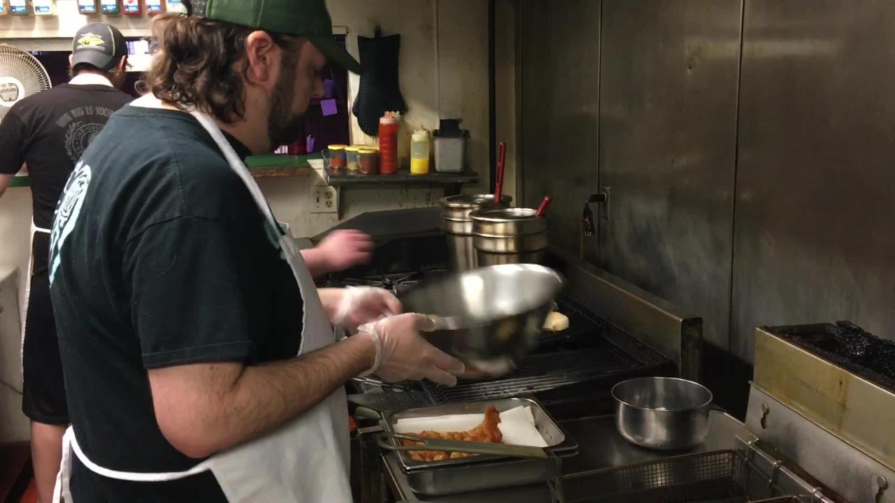 Guu's on Main earned second place in a Stevens Point Journal reader survey of the best places for a fish fry in the Stevens Point area.