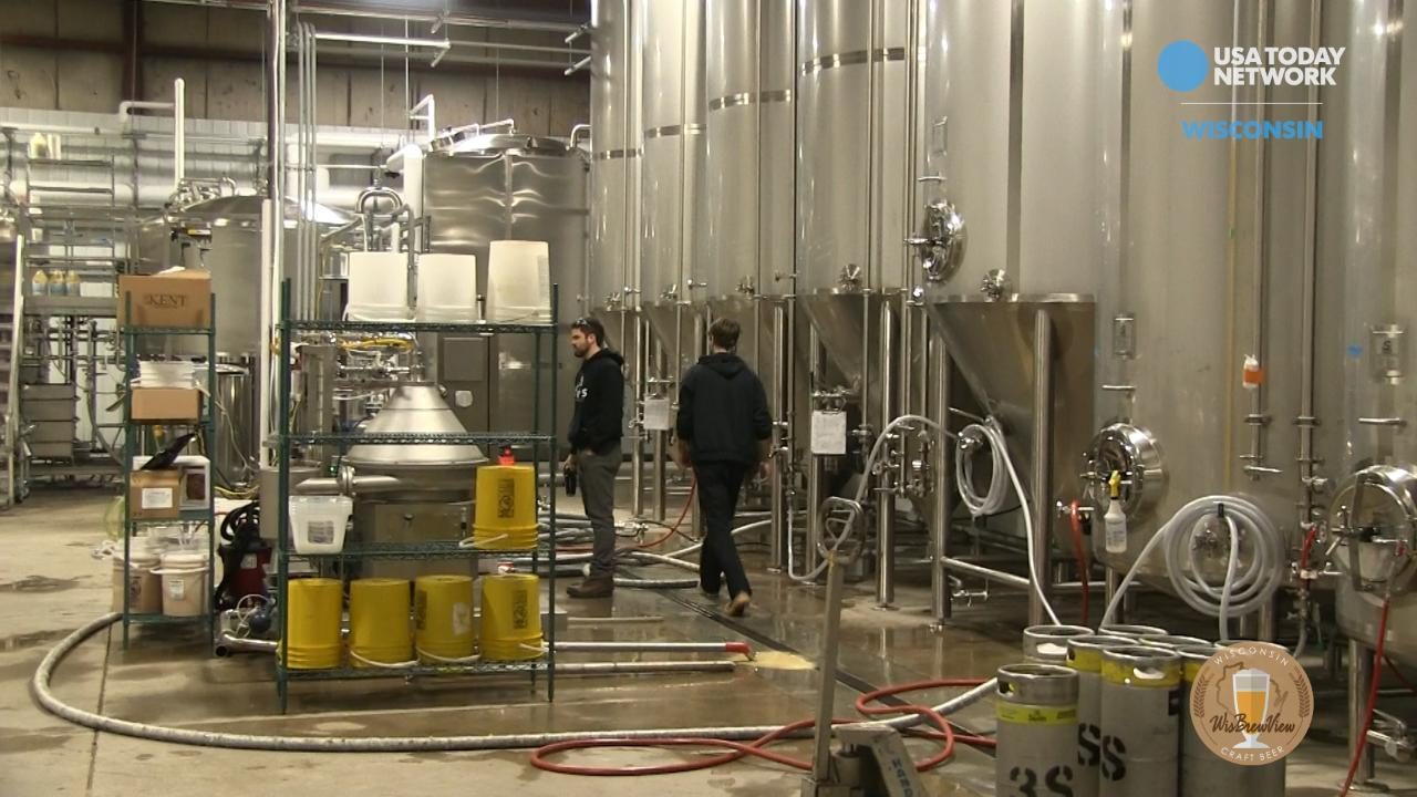 We take a Before -and-After tour of 3 Sheeps new brewery in Sheboygan.