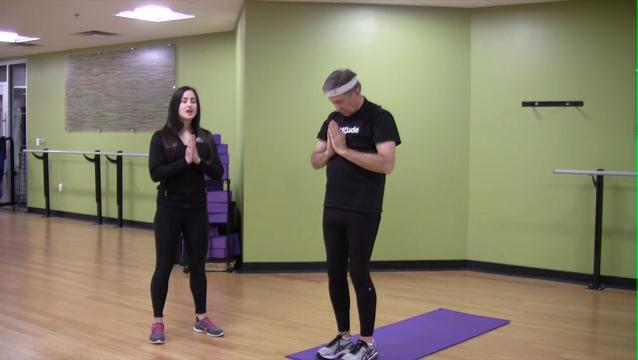 In Motion: Yoga Warm-up