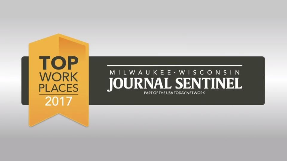 The Milwaukee Journal Sentinel's 2017 Top Workplaces