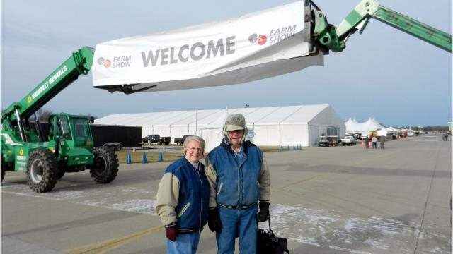 The Wisconsin Public Service Farm Show held at the EAA grounds in Oshkosh March 28 -30.
