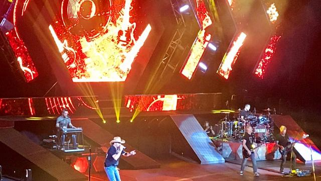 Highlights from Jason Aldean concert at Resch
