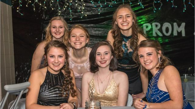 Rosholt High School held its prom on Saturday, April 8, 2017, at the high school.