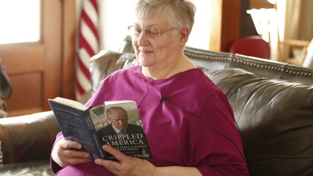 Trump's first 100 days: Sallie Helmer, 74, Ripon