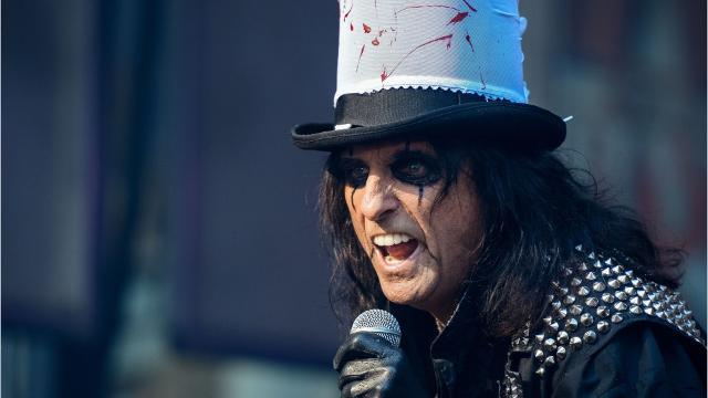 5 things to know about Rock and Roll Hall of Famer Alice Cooper. Photos: Getty Images/AP.