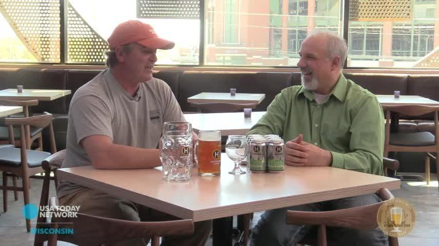 Food and drink reporter Daniel Higgens talks craft beer with Hinterland's Joe Karls.