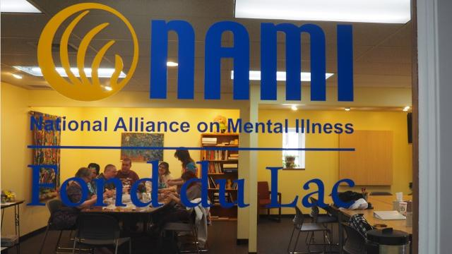 The Fond du Lac Chapter of NAMI has partnered with Fond du Lac Center for Spirituality & Healing and Trista Holz Studios to offer yoga and art as alternative forms of therapy. (Madeline Zukowski/USA TODAY NETWORK-Wisconsin)