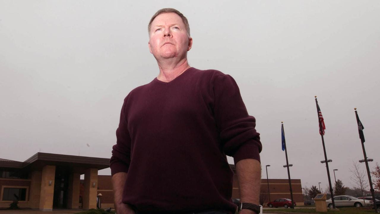 Former Oak Creek Police Lt. Brian Murphy was the first to respond to the fatal shooting rampage at the Sikh Temple of Wisconsin Aug. 5, 2012. He talked about the shooting that left six people dead and four wounded.