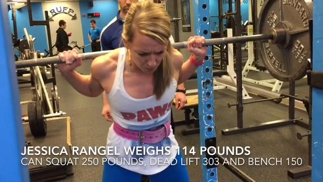Chin Up: Empowered by power lifting