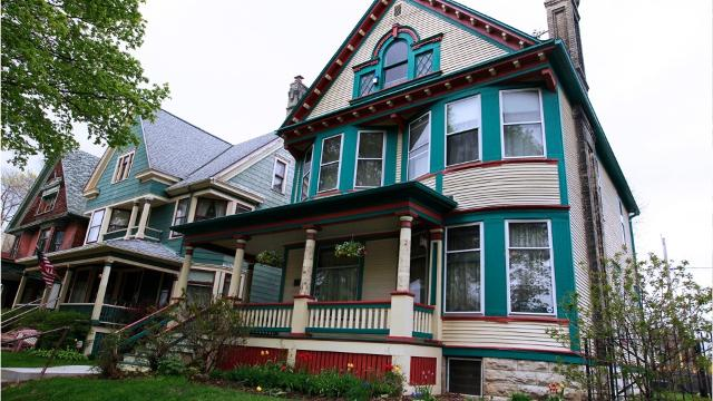 Rehabilitated homes created the Historic Concordia neighborhood