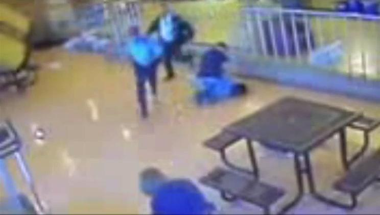 Video shows Lincoln Hills guard dropping knee-first onto handcuffed juvenile inmate's neck