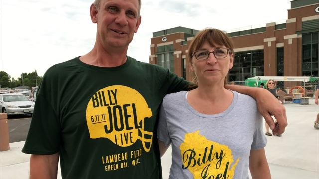 Highlights from the Billy Joel concert at Lambeau Field
