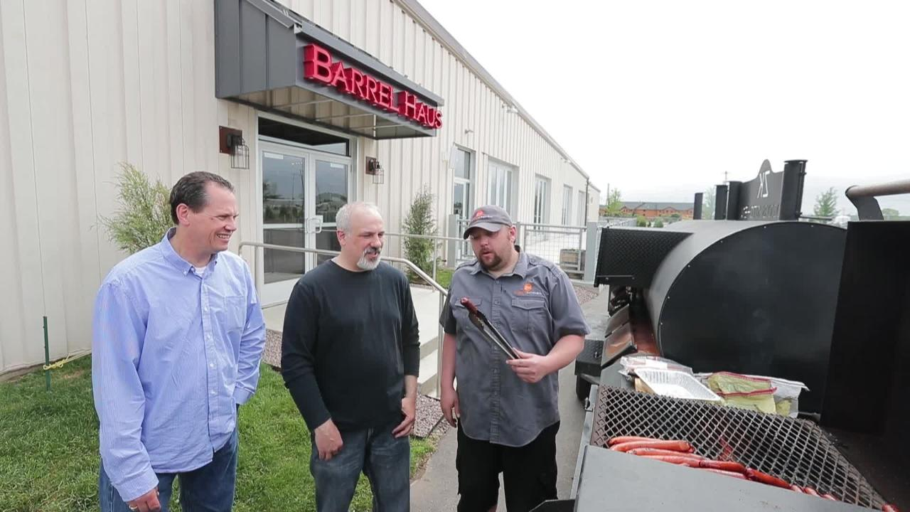 Food & Drink Reporter Dan Higgins talks with Cher-Make Sausage Company President Tom Chermak and Zozo's Kitchen Owner and Chef Bob Stahl about grilling hot dogs.