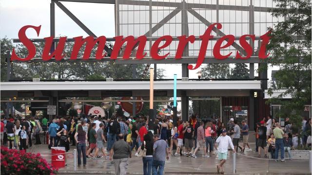 Summerfest memorable events